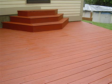 Restaining A Deck With Solid Stain by Deck Staining