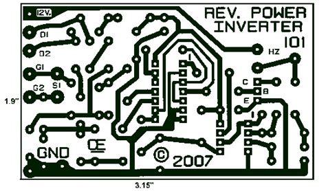 Power Inverter Pcb Layout Design Schematic