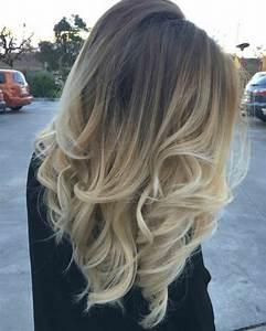 Ombré Hair Blond Foncé : blond polaire blond cendr ou blond fonc ~ Nature-et-papiers.com Idées de Décoration