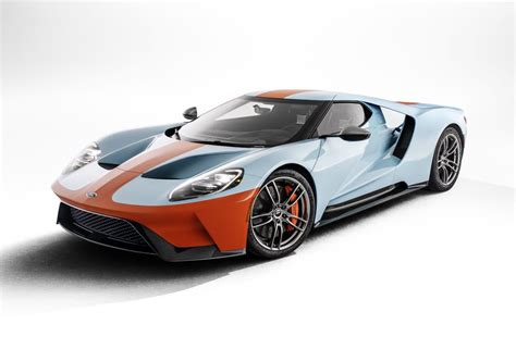 The 2019 Ford Gt Heritage Edition Celebrates Racing's Most