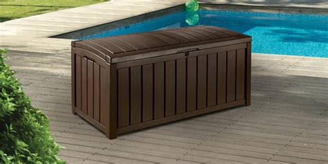 Keter Glenwood Storage Deck Box by Suncast Deck Boxes Sears