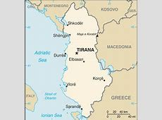 Albania Map with Cities Free Pictures of Country Maps