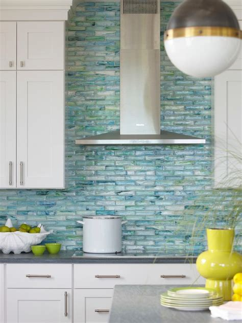 blue tile backsplash kitchen cheap glass tile kitchen backsplash decor ideas