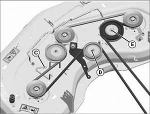 John Deere 46 Inch Mower Deck Belt Diagram