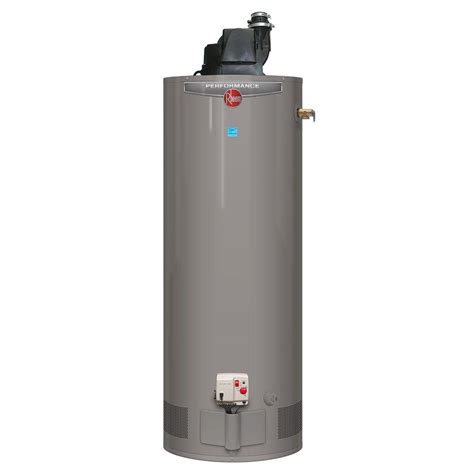 Rheem Performance 40 Gal Tall 6 Year 40,000 Btu Power