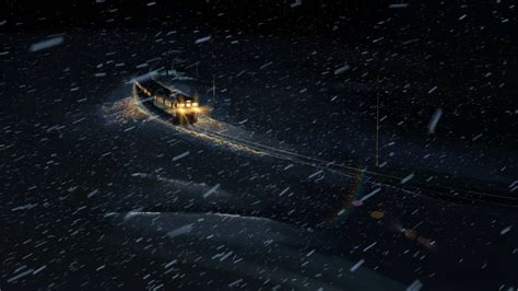 Anime Snow Wallpaper - anime 5 centimeters per second winter snow
