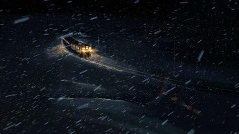 Snow Anime Wallpaper - anime 5 centimeters per second winter snow