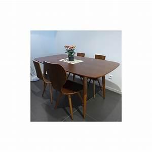 Table A Manger Bois : oural noyer table manger extensible en bois au design scandinave ~ Preciouscoupons.com Idées de Décoration