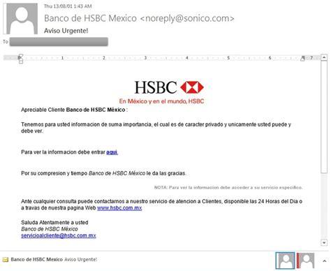 si e social hsbc seguridad en parte 3 phishing temas de