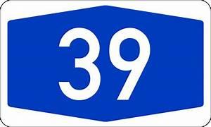 File:Bundesautobahn 39 number.svg