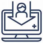 Registration Icon Patient Hospital Document Data Register
