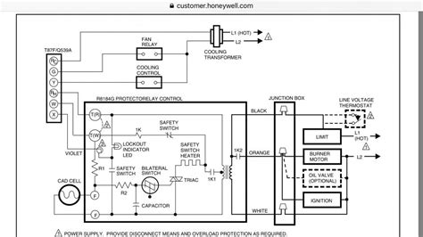 Oil Fired Forced Air Furnace Wiring Diagram