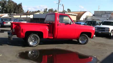 Chevrolet Shortbed Stepside Pickup Truck