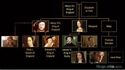 Reign Tree Henry King Viii England Scotland
