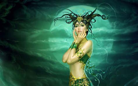 Permalink to Desktop Fantasy Frauen Wallpaper Hd