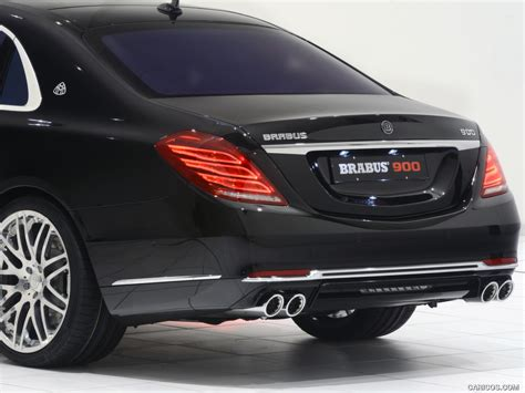 2016 mercedes maybach s600 brabus 900hp! 2016 BRABUS 900 Mercedes-Maybach S600 - Rear | HD Wallpaper #29