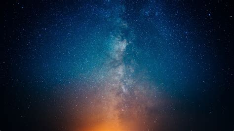 Download Milky Way Stars Sky Night Galaxy