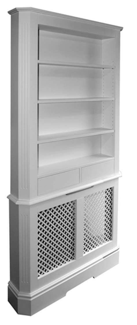 Radiator Cabinet With Drawers by Radiator Cover With Bookcase Bookcase Above Radiator