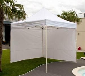 tente pliante loisirs 3x3m With tente pour jardin pas cher 9 barnum chapiteau pliant 3 x 6 m blanc pas cher en promotion