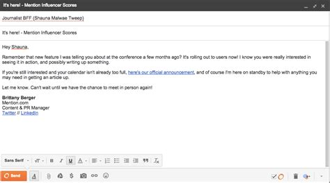 How To Mention Reference In Application Email by Inbound Pr Why It S All About Strong Relationships