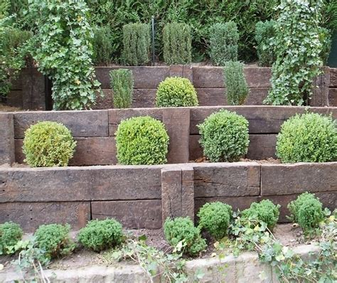 escalier jardin traverse chemin fer meilleures id 233 es
