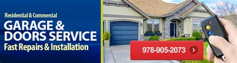 garage door repair hudson garage door repair hudson ma 978 905 2073 call now