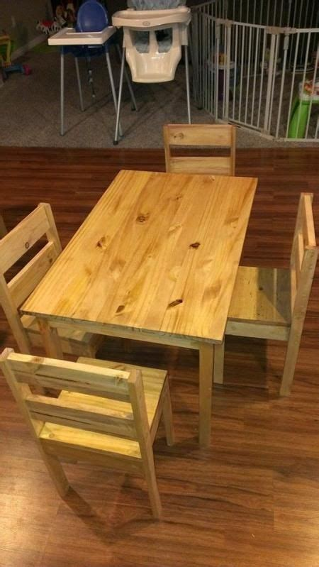 childrens table  chairs    home projects