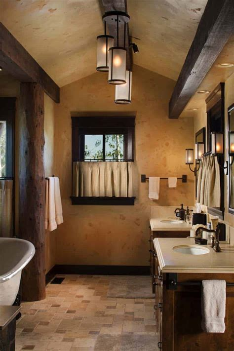 gorgeous contemporary bathrooms featured  mountain