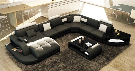 canape cuir blanc et gris deco in canape d angle design panoramique gris et