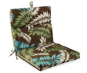 fairbanks botanical stripe reversible outdoor chair