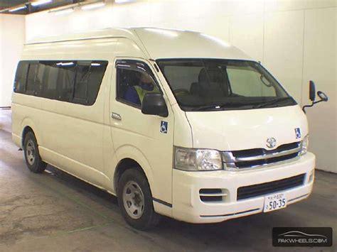 used toyota hiace 2009 car for sale in karachi 852299 pakwheels