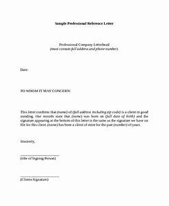 Free, 7, Reference, Letter, Samples, In, Pdf