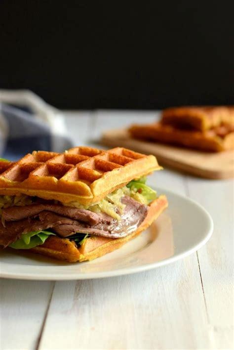 recette gaufre sal 233 recette gaufre sandwich paleo