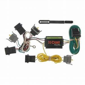 Curt Custom Wiring Harness  4-way Flat Output -55343