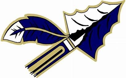 Football Arrowhead Clipart Logos Warrior Cool Spear