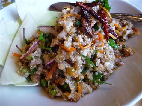 smokin chokin  chowing   king thai salad special