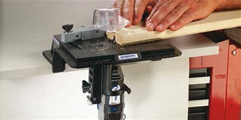 dremel shaper router table  toolswood