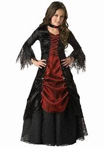 Halloween Kostüm Vampir : girls goth vampire costume girls traditional vampira ~ Lizthompson.info Haus und Dekorationen