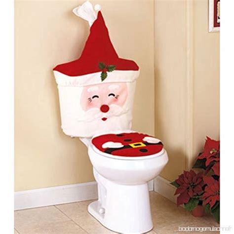 siege de toilette tinksky santa claus housse de siège de toilette pour salle