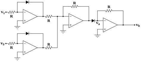 Differential Amplifier For Two Ntc Thermistors