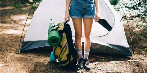 camping gear supplies hiking essentials personal items tents crop