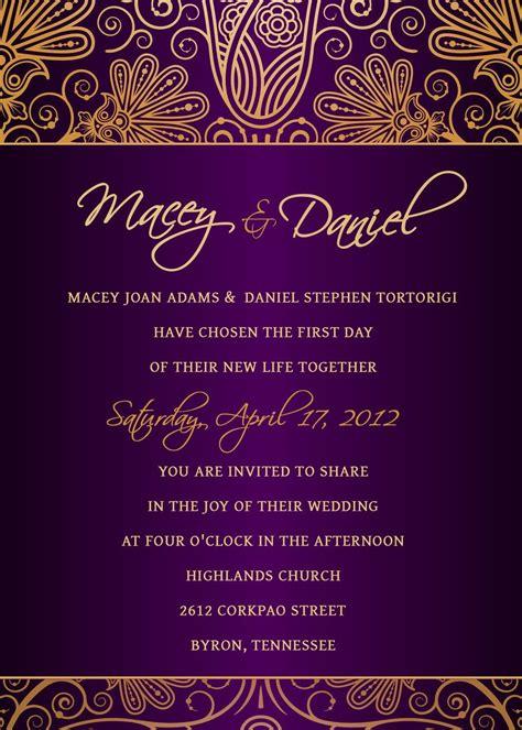 wedding invitation template   psd app design
