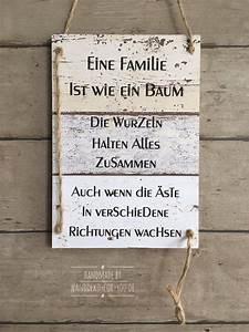 Sprüche Auf Holz : eine familie ist wie ein baum gartenspr che pinterest ~ Orissabook.com Haus und Dekorationen
