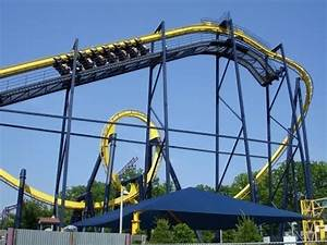 Batman: The Ride Off-Ride Six Flags Great Adventure - YouTube