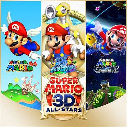 Mario Stars Switch Artwork Games