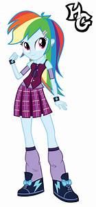 EG - Crystal Prep Rainbow Dash Vector by HellGirl66618 on ...