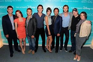 Scarlett Johansson and The Avengers Cast at D23 Pictures ...