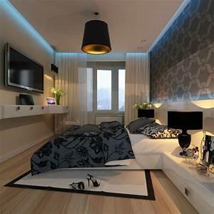 Bilder Für Schlafzimmer Wand : schlafzimmer dekorieren 55 ideen f r wandgestaltung co ~ Sanjose-hotels-ca.com Haus und Dekorationen