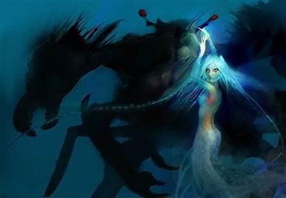 Angel Sea Wallpapers Angels Demons Fantasy Mermaid