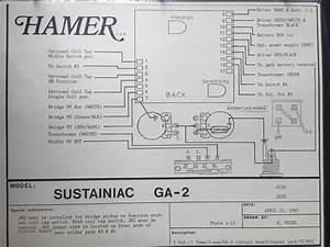 Hamer Chaparral Wiring Diagram - Hamer Fan Club Messageboard